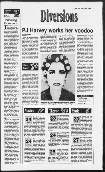 Daily Trojan, Vol. 124, No. 41, March 23, 1995