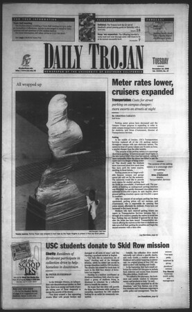 Daily Trojan, Vol. 135, No. 47, November 10, 1998