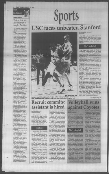 Daily Trojan, Vol. 133, No. 6, January 15, 1998