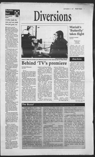 Daily Trojan, Vol. 132, No. 14, September 17, 1997