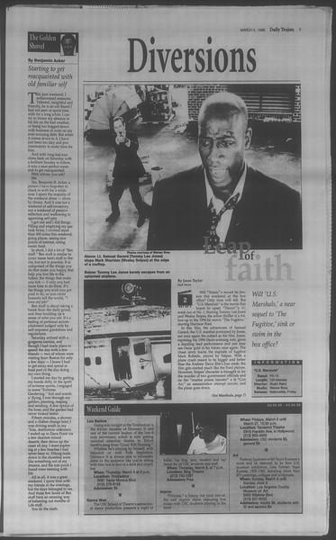 Daily Trojan, Vol. 133, No. 37, March 05, 1998