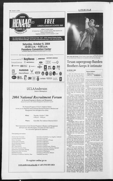 Daily Trojan, Vol. 153, No. 29, October 05, 2004