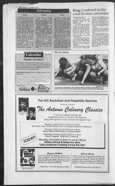 Daily Trojan, Vol. 132, No. 49, November 06, 1997