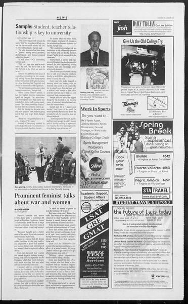 Daily Trojan, Vol. 153, No. 32, October 08, 2004