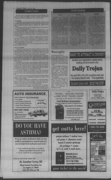 Summer Trojan, Vol. 134, No. 7, June 24, 1998