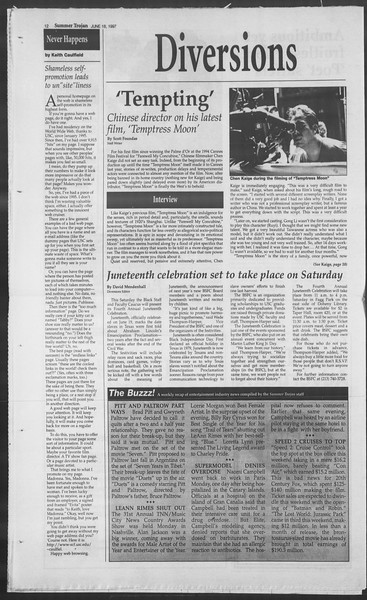 Summer Trojan, Vol. 131, No. 6, June 18, 1997