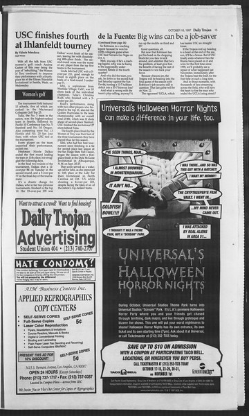 Daily Trojan, Vol. 132, No. 34, October 16, 1997