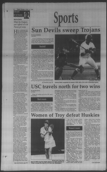 Daily Trojan, Vol. 133, No. 57, April 13, 1998