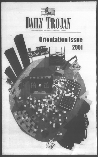 Daily Trojan, Vol. 144, No. 1, August 20, 2001