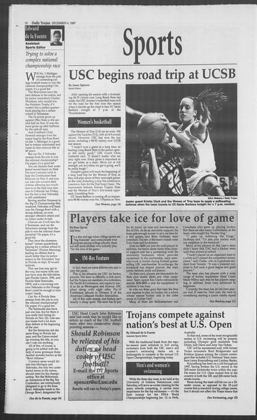 Daily Trojan, Vol. 132, No. 65, December 04, 1997