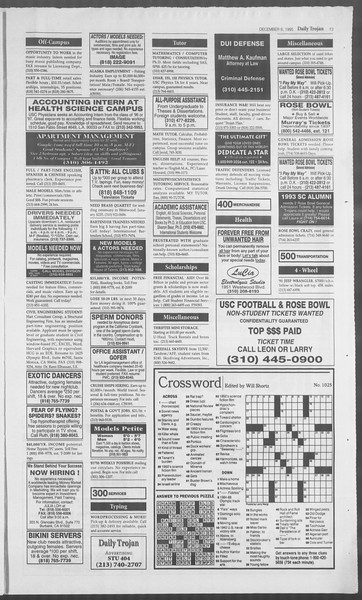 Daily Trojan, Vol. 126, No. 64, December 06, 1995