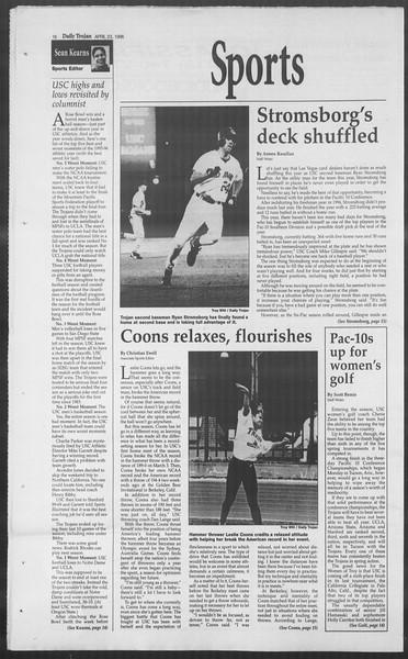 Daily Trojan, Vol. 127, No. 64, April 23, 1996