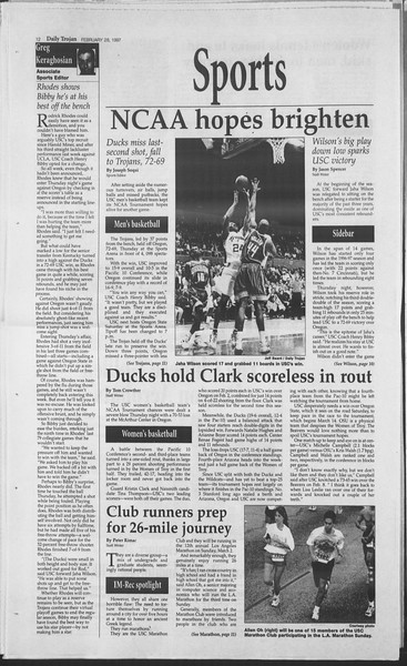 Daily Trojan, Vol. 130, No. 33, February 28, 1997