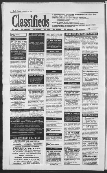 Daily Trojan, Vol. 130, No. 21, February 10, 1997