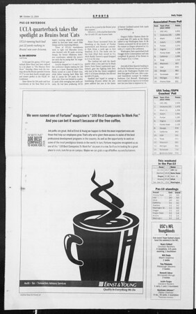 Daily Trojan, Vol. 153, No. 34, October 12, 2004