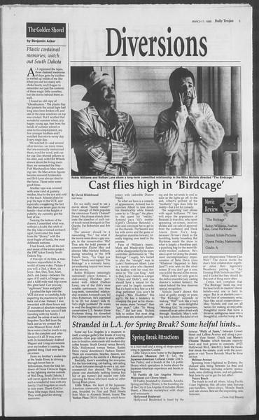 Daily Trojan, Vol. 127, No. 37, March 07, 1996