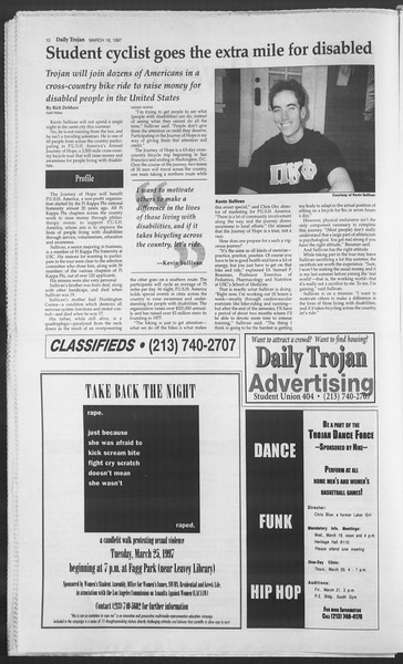 Daily Trojan, Vol. 130, No. 38, March 18, 1997