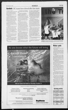 Daily Trojan, Vol. 153, No. 40, October 20, 2004