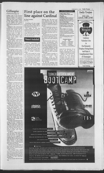 Daily Trojan, Vol. 130, No. 19, February 06, 1997
