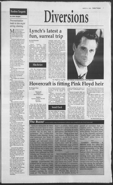 Daily Trojan, Vol. 130, No. 35, March 04, 1997