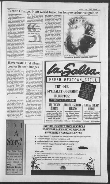 Daily Trojan, Vol. 130, No. 35, March 04, 1997