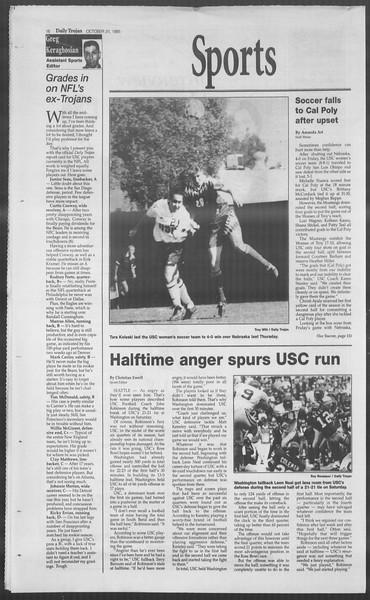 Daily Trojan, Vol. 126, No. 42, October 31, 1995