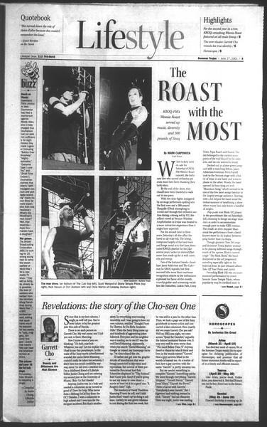 Daily Trojan, Vol. 143, No. 6, June 27, 2001