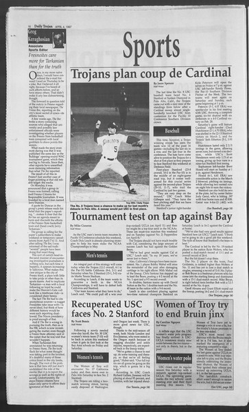 Daily Trojan, Vol. 130, No. 51, April 04, 1997
