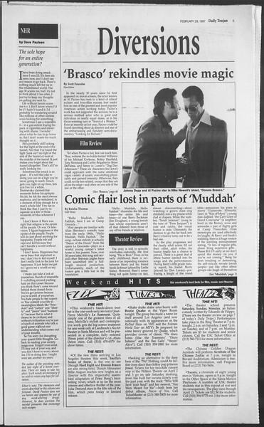 Daily Trojan, Vol. 130, No. 33, February 28, 1997