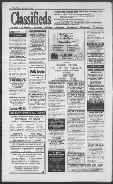Daily Trojan, Vol. 126, No. 5, September 07, 1995