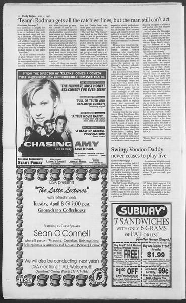 Daily Trojan, Vol. 130, No. 51, April 04, 1997