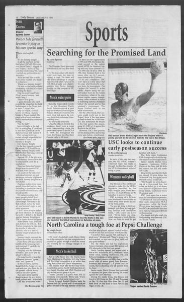 Daily Trojan, Vol. 129, No. 66, December 06, 1996