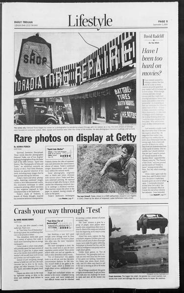 Daily Trojan, Vol. 153, No. 10, September 03, 2004