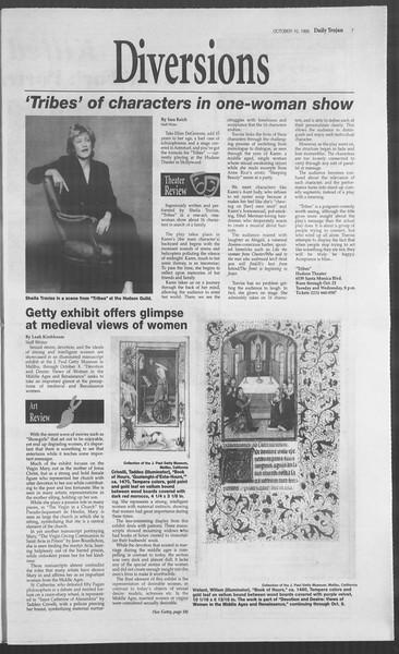 Daily Trojan, Vol. 126, No. 22, October 02, 1995