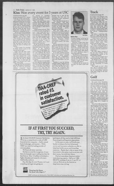 Daily Trojan, Vol. 127, No. 45, March 27, 1996