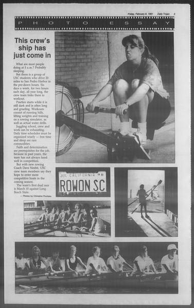 Daily Trojan, Vol. 114, No. 21, February 08, 1991