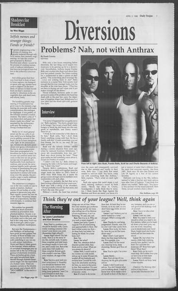 Daily Trojan, Vol. 127, No. 49, April 02, 1996