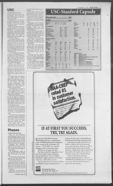 Daily Trojan, Vol. 126, No. 46, November 06, 1995