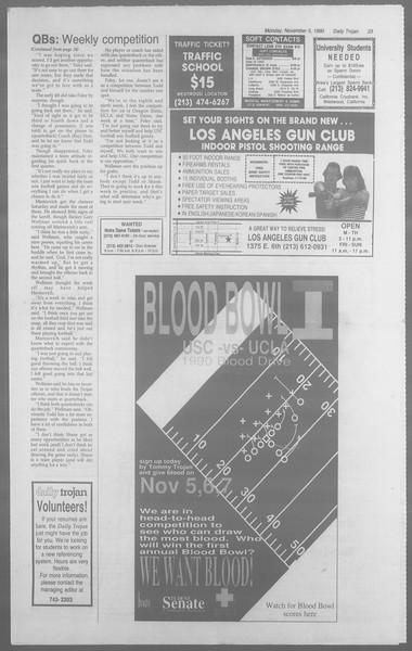 Daily Trojan, Vol. 113, No. 44, November 05, 1990