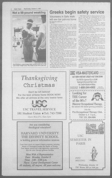Daily Trojan, Vol. 113, No. 22, October 03, 1990