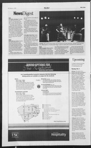 Daily Trojan, Vol. 157, No. 15, February 01, 2006