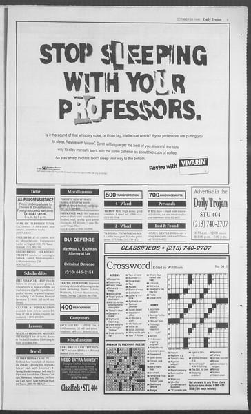 Daily Trojan, Vol. 126, No. 36, October 23, 1995