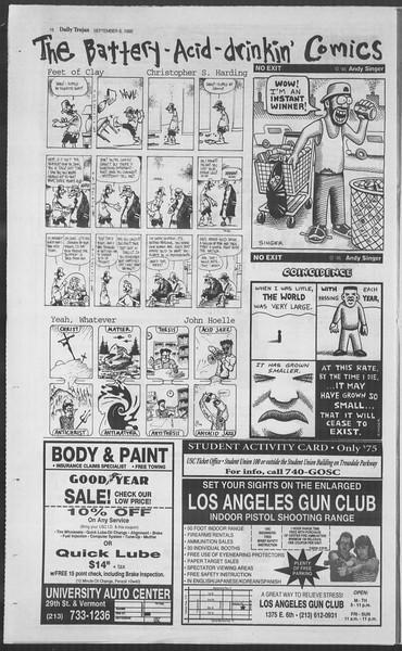 Daily Trojan, Vol. 126, No. 4, September 06, 1995