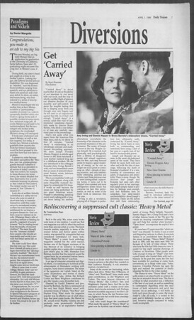 Daily Trojan, Vol. 127, No. 48, April 01, 1996