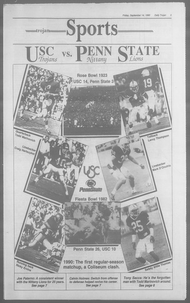 Daily Trojan, Vol. 113, No. 9, September 14, 1990