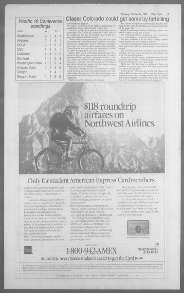 Daily Trojan, Vol. 113, No. 28, October 11, 1990