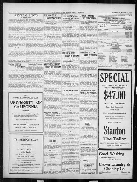 Daily Trojan, Vol. 18, No. 103, March 17, 1927