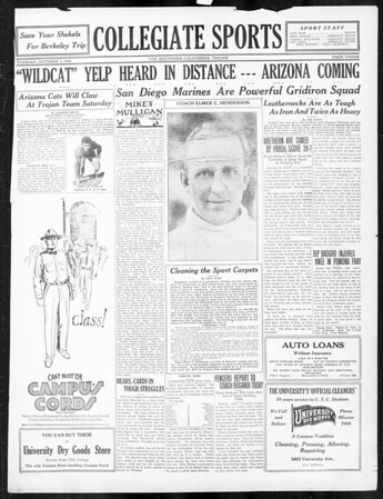 The Southern California Trojan, Vol. 16, No. 8, October 07, 1924