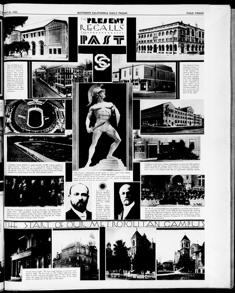 Southern California Daily Trojan, Vol. 21, No. 149, May 29, 1930