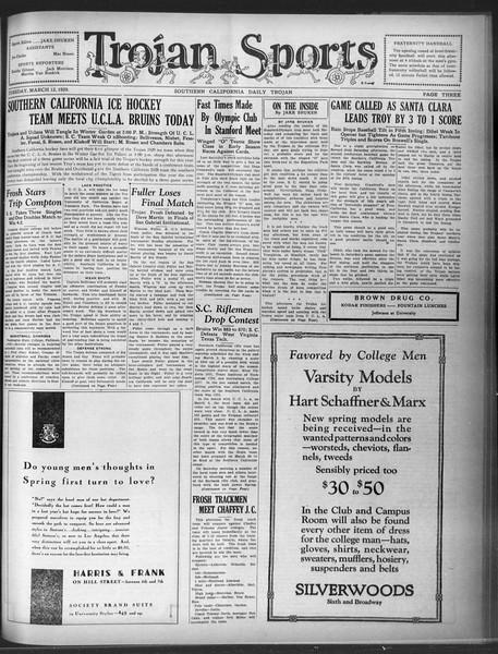 Daily Trojan, Vol. 20, No. 102, March 12, 1929
